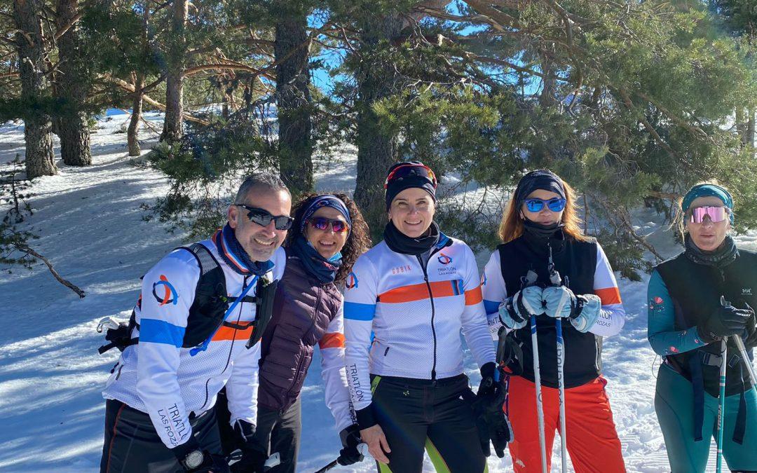 El Club Triatlón Las Rozas prepara el Campeonato de España de Triatlón de Invierno 2021.